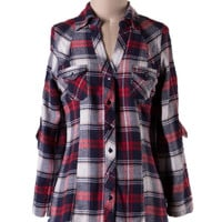 Great American Flannel in Red - Last One!