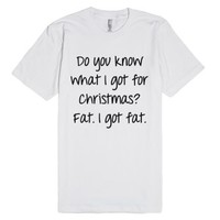 What I got for Christmas..-Unisex White T-Shirt