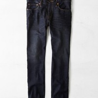 AEO Men's Slim Straight Jean (Dark Worn Resin)