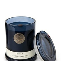 HAVEN STREET Vanilla Orchid Wooden Wick Candle
