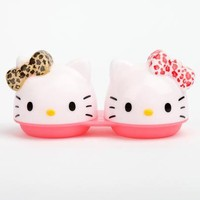 Hello Kitty Contact Lens Case: Leopard Bow