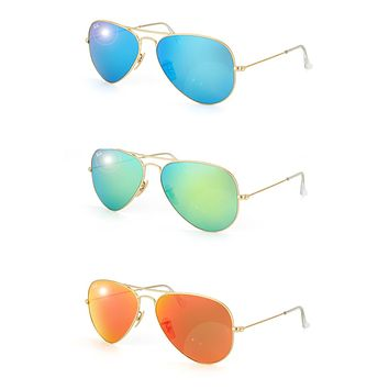 Cheap Brand New!! Ray-Ban Aviator Large Metal Sunglasses outlet
