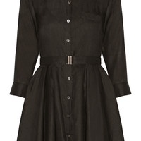 Theory - Jalyis ramie shirt dress