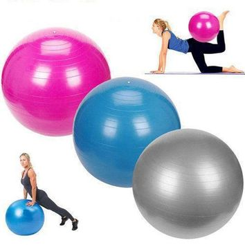 55-85cm Yoga Slimming Balance Pilates Balls Gym Exercise Workout Ball Anti-Burst and Slip Resistant Fitness Sport Ball