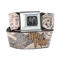 Harry Potter Marauder's Map Seat Belt Belt