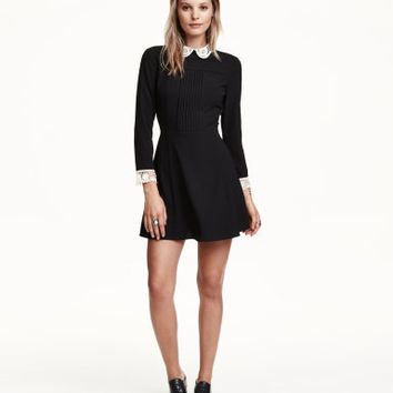 H&M Dress with Lace Collar $39.99