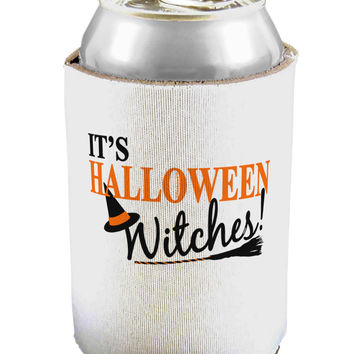 It's Halloween Witches Hat Can / Bottle Insulator Coolers