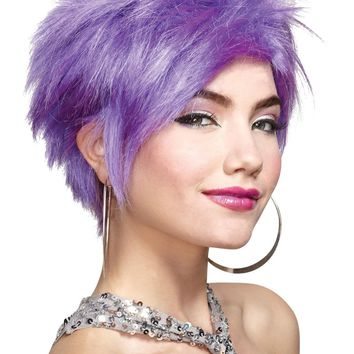 Lavender Wig Costume Accessories