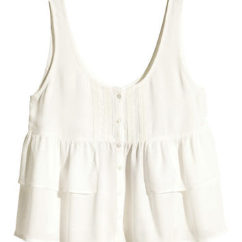 H&M Wide-cut Top $19.99
