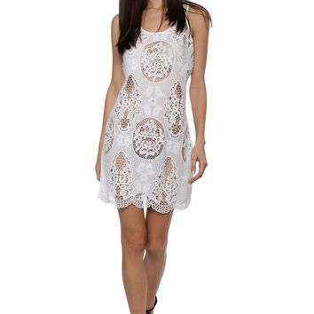 Darah Dahl Crochet Beach Dress