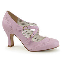 Pinup Couture Flapper Lavender Mary Jane Pump