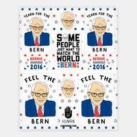 Feel The Bern Stickers