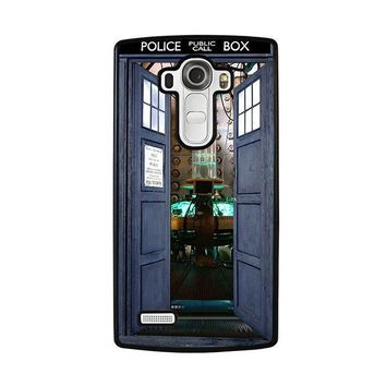 dr who tardis open the door lg g4 case cover  number 2