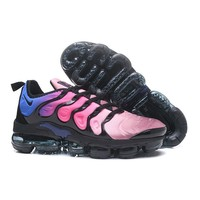 2018 Nike Air VaporMax Plus TN Pink Black Sport Running Shoes - Best Online Sale