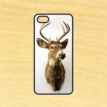 Deer Head Hunting Mounted Plaque iPhone 4/4S 5/5C 6/6+ and Samsung Galaxy S3/S4/S5 Phone Case