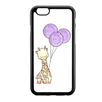Cartoon Giraffe Baloon iPhone 6 Case