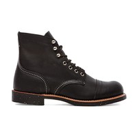 "Red Wing Shoes Iron Ranger 6"" Iron Ranger in Black"