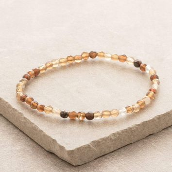 Brown Agate Mini Energy Gemstone Bracelet