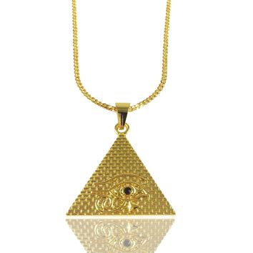 Eye of Horus Pyramid x Gold