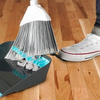 quirky  - Broom Groomer Broom Cleaning Dustpan