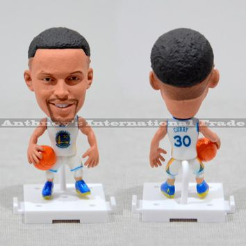 All star figure Stephen Curry Basketball player Model Figurine mannequins Toy Golden State Warriors NO.30 Curry christmas
