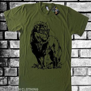 Professor Lion Tee Geeky Nerdy Geekery Men Tshirts Women Graphic Tees Kids Tshirt Gifts For Teacher Graduation Gift Teacher Novelty Gift