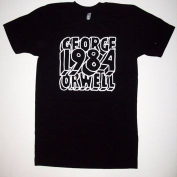 MENS 1984 T SHIRT S M L XL george orwell by abjectbirth on Etsy