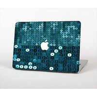 """The Teal Sequences Skin Set for the Apple MacBook Air 11"""""""