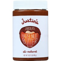 Justins Nut Butter Hazelnut Butter Blend - Chocolate - Jar - 16 Oz - Case Of 6