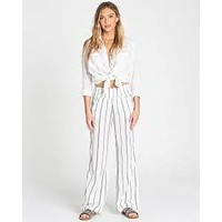 Billabong Women's New Waves Striped Wide Leg Beach Pant