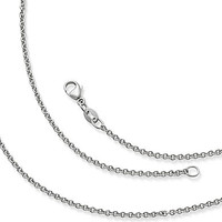 James Avery Light Cable Chain - Sterling Silver 16 in.
