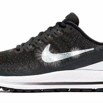 Nike Air Zoom Vomero 13 + Crystals - Black/White