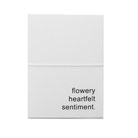 flowery heartfelt sentiment note cards