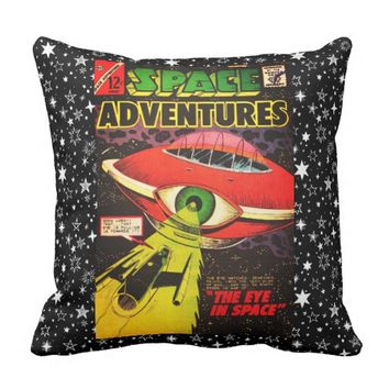 The Eye In Space Throw Pillow
