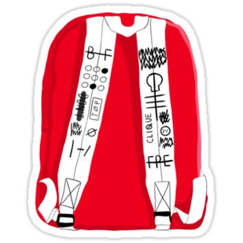 Tyler Joseph Backpack Sticker by rzinbow