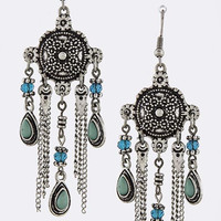 Antique Gypsy Charm Earrings