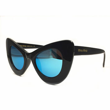 Miu Miu Women Fashion Popular Summer Sun Shades Eyeglasses Glasses Sunglasses