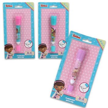 Doc McStuffins Flashlight withPen 2-in-1 - CASE OF 24