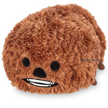 "Licensed cool NEW Star Wars 12"" Chewbacca Wookie Tsum Tsum Plush Medium Toy Disney Store USA"