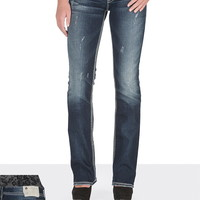 silver jeans co. ® Suki contrast stitch Dark Wash Jeans