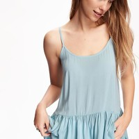 Swing Peplum Cami for Women