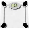 Evelots Tempered Glass Digital Bathroom Scale, Backlight Display,Accurate, Clear
