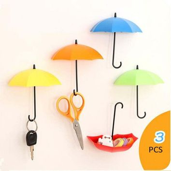 1 Set/3 Pcs Home Gadget Holder Rack Kitchen Bathroom Storage Hanger Hook Organizer Holders Multifunction