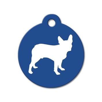 Boston Terrier - Silhouette Pet Tag