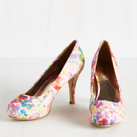 Runway with You Heel | Mod Retro Vintage Heels | ModCloth.com