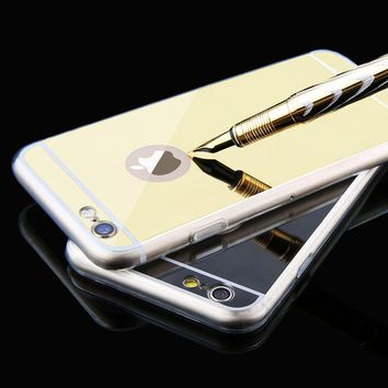 Luxury Clear Mirror Cover