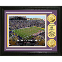 Louisiana State Universitystadium Gold Coin Photo Mint