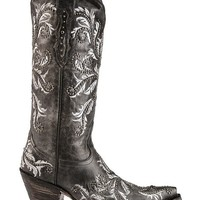 Lucchese Studded Angelina Swarovski Crystal Cowgirl Boots - Snip Toe - Sheplers