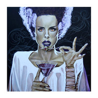 I Put A Spell On You by Mike Bell Fine Art Giclee Canvas Print