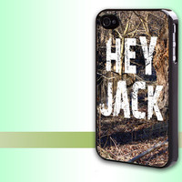 Iphone case Duck Dynasty Si Hey Jack Iphone 4 case cool awesome Iphone 4s case